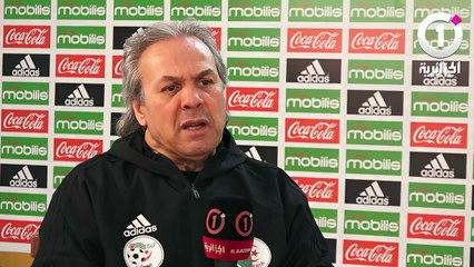 Madjer défend Chaouchi et évoque le cas Mbolhi