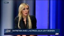 Entretien avec l'actrice Julia Levy Boeken