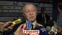 Aulas évoque la finale de la Ligue Europa à Lyon - Foot - C3 - OM