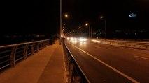 Köprüde intihara kalkıştı, emniyet müdürü ikna etti
