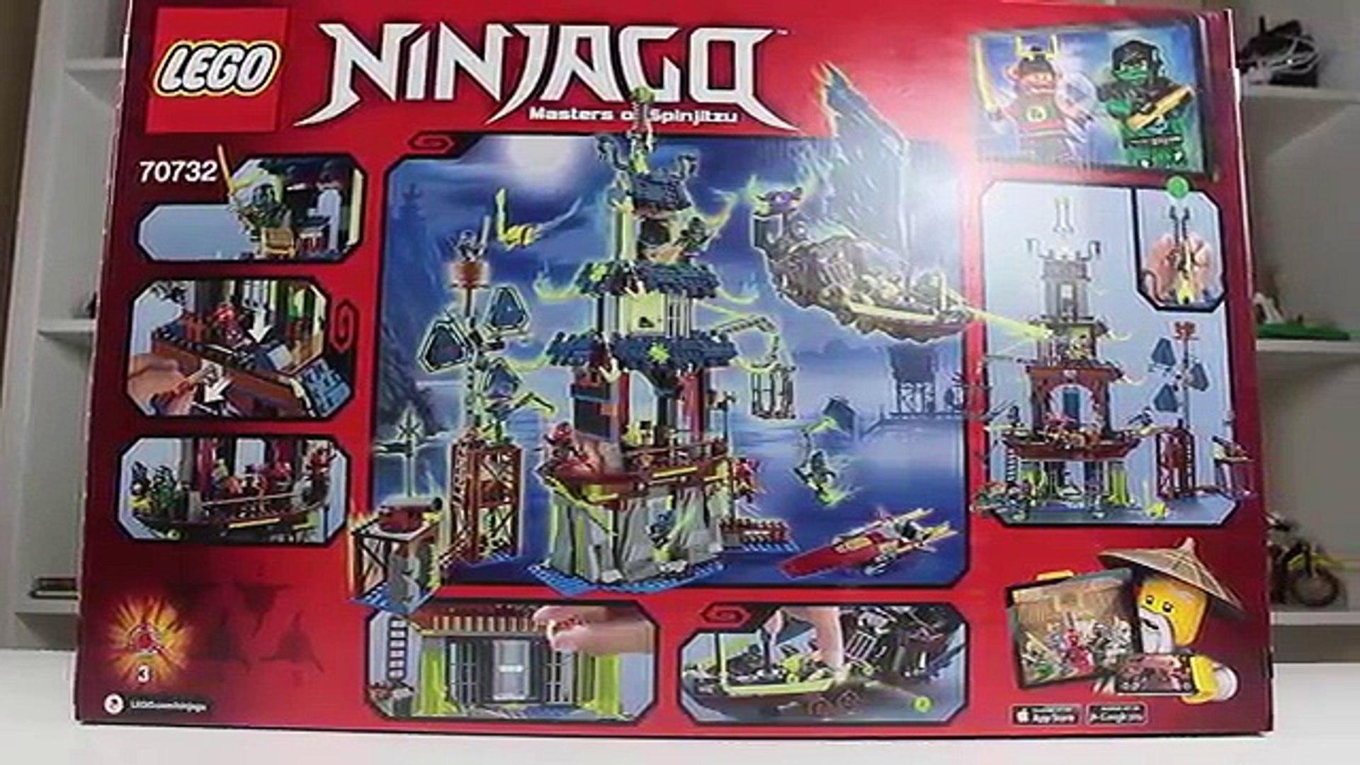 Lego Ninjago 70732 Город Стикс (City Of Stiix) новинка new!
