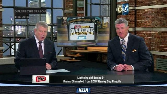 Bruins Overtime Live: Bruce Cassidy Sheds Light On Bruins' Lack Of Goal Scoring In Lightning Series