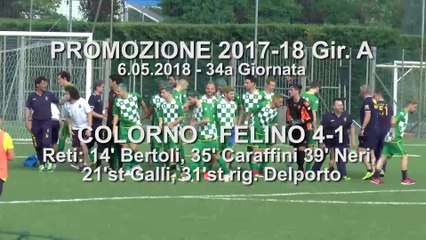 Colorno - Felino 4-1, gli highlights