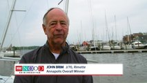 Helly Hansen NOOD Regatta Annapolis Overall Winner John Brim.