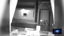 Camara de seguridad captura orbs (orbes) en Bingo ingles