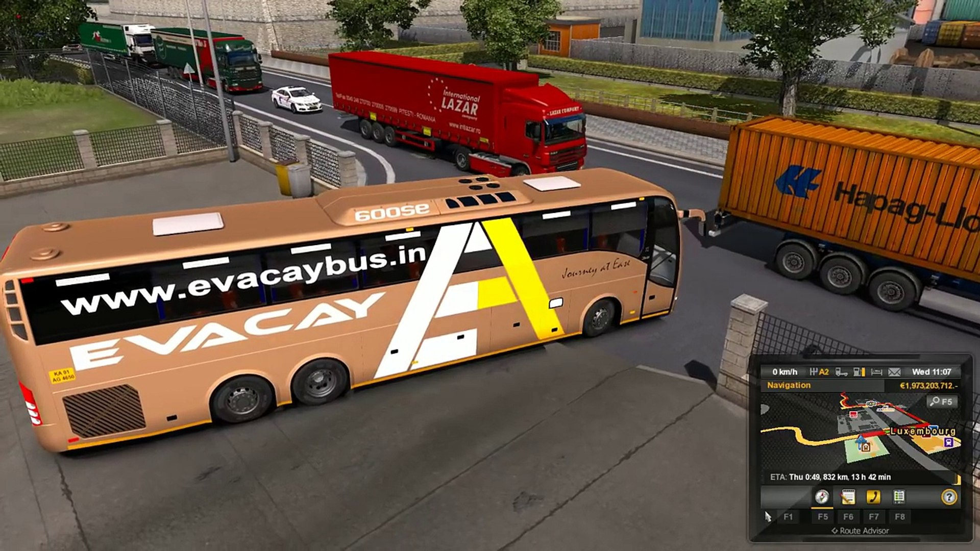 Ets 2 Chennai to Coimbatore  ETS2 Volvo Indian Bus Mod