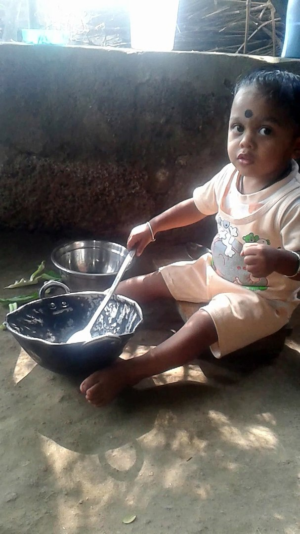 Cute Baby Cooking Funny video
