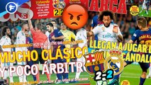 La presse madrilène scandalisée par l'arbitrage du Clasico, Jurgen Klopp recadre Mohamed Salah