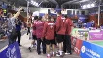Finale des championnats de France de badminton à Andrézieux-Bouthéon