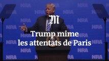 A nouveau, Donald Trump crée la polémique avec ses propos sur les attentats du 13 novembre