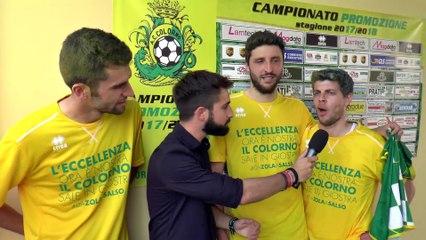 Pessagno, Delporto, Riccardi e il tem manager Pecci commentano la stagione del Colorno