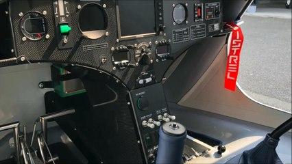 Premier vol de l'avion électrique de la FFA