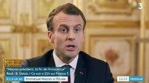 """Macron critique """"ceux qui pensent que le summum de la lutte c'est les 50 euros d'APL"""" - ZAPPING ACTU DU 07/05/2018"""