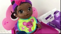 Baby Alive Face Paint Fairy Twins Doll Collab with Aloha Baby Alive!