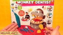 Singe Dentiste Pâte à Modeler Play Doh Fabrication de Dents Jouets pour Enfants en français