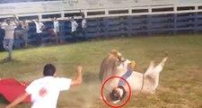 Kostarika'da Boğanın Altında Kalan Rodeo Binicisi Feci Şekilde Can Verdi