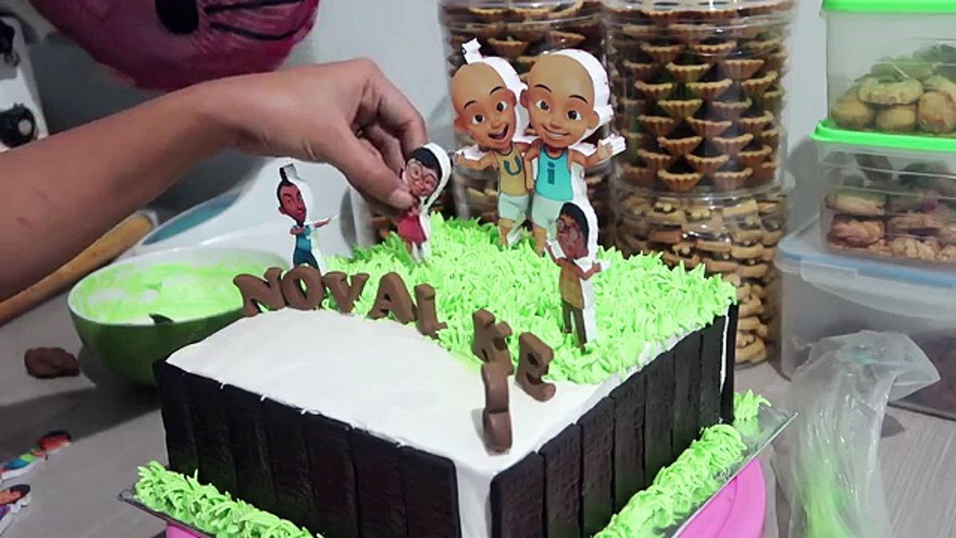 Cara Membuat Kue Ulang Tahun Upin Ipin Dengan Cepat Dan Unik How To Make Birthday Cake