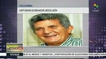Capturan al exsenador Jesús León Puello por parapolítica en Cartagena