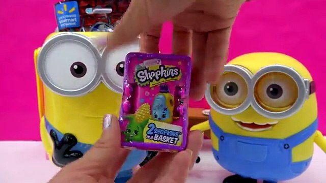 Minions filled with Surprise Blind Bags + Toys from Shopkins Jurassic World, Monster High