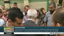 Palestinos sepultan a seis milicianos asesinados por ejército israelí