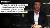 """Arnaud Ducret :""""Je suis allé parler à l'Assemblée nationale devant la ministre  de la santé, grâce à ce film. Je suis parrain de SOS Autisme"""""""