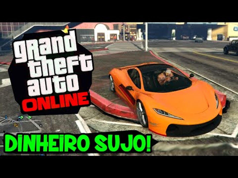 NOVO DLC! NOVOS CARROS, SOCO INGLÊS, ROUPA! DINHEIRO SUJO PARTE 2!!  - GTA V Online