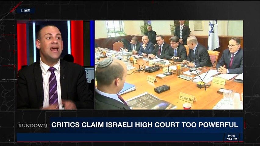 THE RUNDOWN | Israel Chief Justice warns judiciary attack |  Monday, May 7th 2018