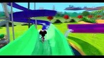Мультик игра для детей Минни Маус, Эластика Суперсемейка и Тачки Машинки Дисней Minnie Mouse