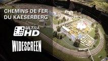 Modelleisenbahn Chemins de fer du Kaeserberg im Panorama - Ein Video von Pennula zum Thema Modellbahnanlage und Modelleisenbahnausstellung