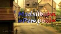 Modellbahn Pempoul á la Reséau Breton von Gordon und Maggie Gravett auf der Eurospoor 2016 - Ein Video von Pennula zum Thema Modellbahnanlage und Modelleisenbahnausstellung