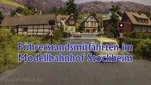Führerstandsmitfahrt Modellbahnhof Stockheim in Spur H0 - Ein Video von Pennula zum Thema Modellbahnanlage und Modelleisenbahnausstellung