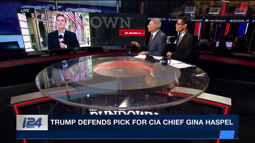 THE RUNDOWN | Trump defends pick for CIA Chief Gina Haspel |  Monday, May 7th 2018