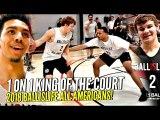 Ballislife 1 on 1 King of The Court!!  Mac McClung, Nassir Little, Jules B GET SAUCY!! +More!