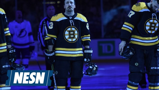 Bruins Are Out But Brad Marchand Is All In On Twitter