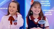 Programa Silvio Santos (06/05/18) - Jogo das 3 Pistas com Lari Manoela e Sophia Valverde (Trechos)