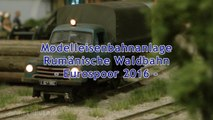 Modellbahn der Rumänischen Wald Eisenbahn von Covasna Comandau von Hans Poscher - Ein Video von Pennula zum Thema Modellbahnanlage und Modelleisenbahnausstellung