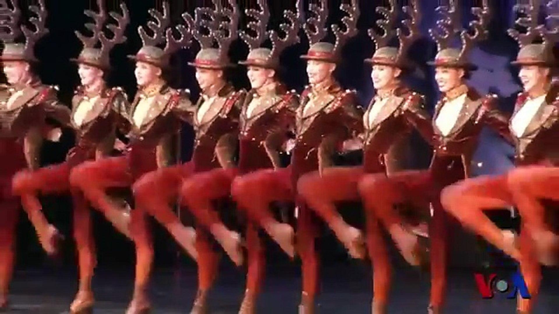 纽约 火箭女郎 开启圣诞季 Video Dailymotion