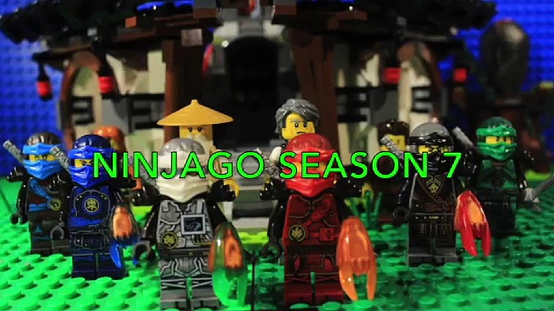 LEGO Ninjago - Season 7: The Test of Time - EPISODE 1: A Disturbance in  Time!