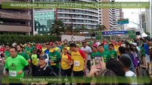 9º Circuito de Corridas Pague Menos  Fortaleza. Largada dos percursos de 2km, 5km e 10km.