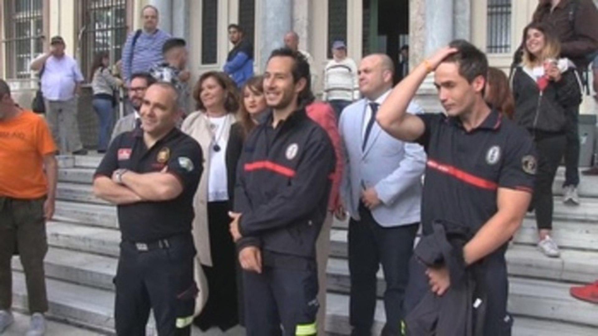 Bomberos sevillanos respiran con alivio al ser declarados inocentes en Grecia
