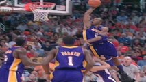 2006 NBA Playoffs: Kobe Bryant Dunks Over Steve Nash