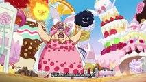 Katakuri vs Luffy _ Jinbe Saves Luffy  - One Piece 833