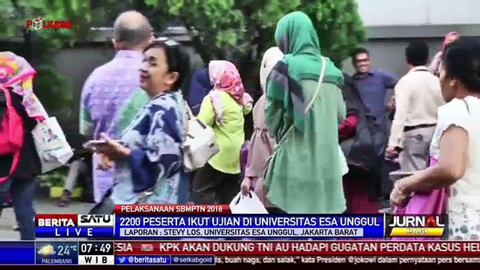 Hari Ini SBMPTN 2018 Digelar Serentak di Seluruh Indonesia