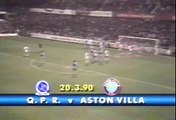 Queens Park Rangers - Aston Villa 20-03-1990 Division One