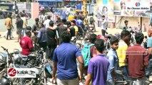 """""""Iruttu Araiyil Murattu Kuththu"""" Movie Team Theatre Visit"""