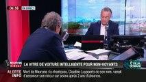 La chronique de Frédéric Simottel: La vitre de voiture intelligente pour non-voyants - 08/05