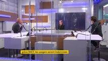 """La grève à la SNCF a un coût """"de l'ordre de 20 millions [d'euros] par jour"""", Élisabeth Borne, ministre des Transports"""