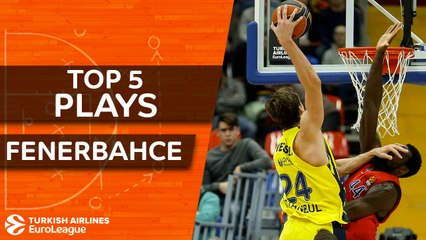 Fenerbahce Dogus Istanbul - Top 5 Plays
