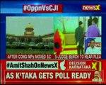CJI Dipak Misra impeachment  5 judges to hear Congress plea today