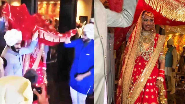 Sonam Kapoor Wedding: Sonam's ENTRY in Mandap with Arjun Kapoor ; Watch Video| FilmiBeat